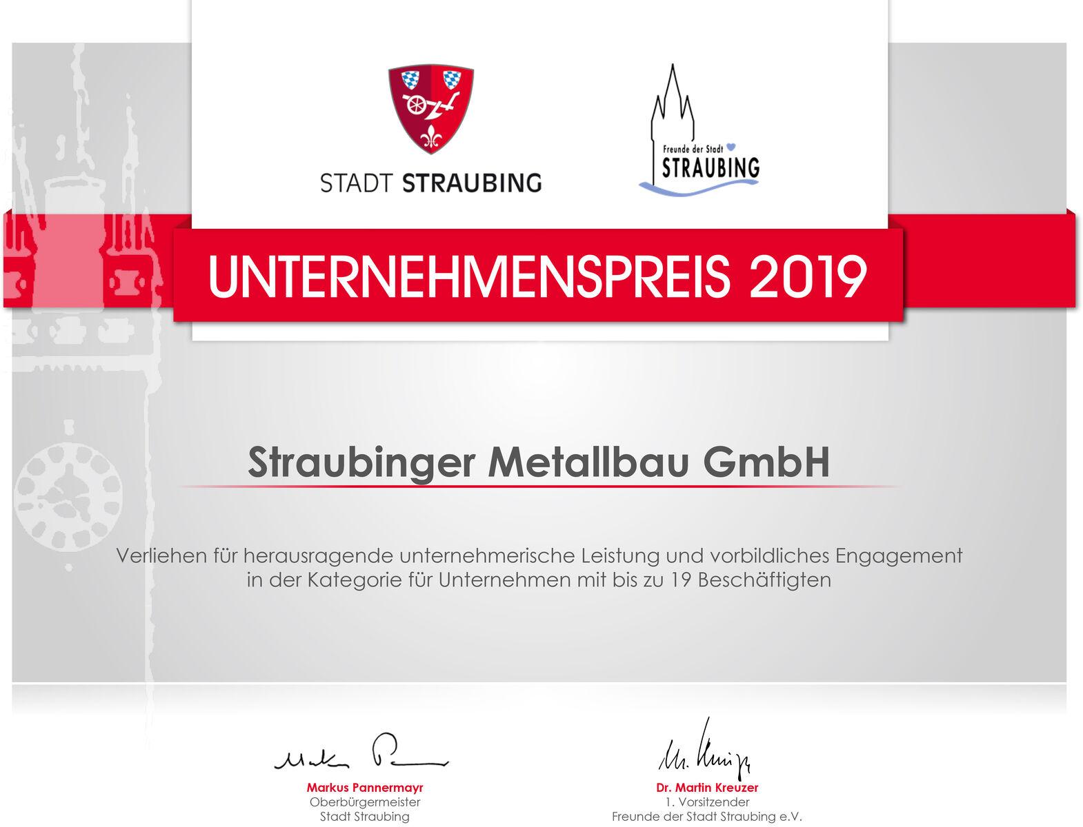 urkunde_straubinger_metallbau
